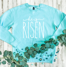 Load image into Gallery viewer, He Is Risen (New) Tultex Sweatshirt DROPSHIP