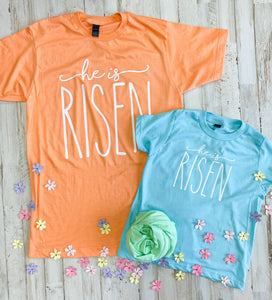 He Is Risen Youth Tee DROPSHIP