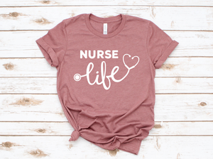Nurse Life Heather Mauve DROPSHIP