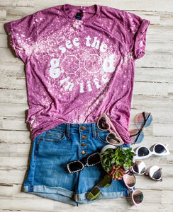 See The Good In Life (Tultex Cassis Distressed) DROPSHIP
