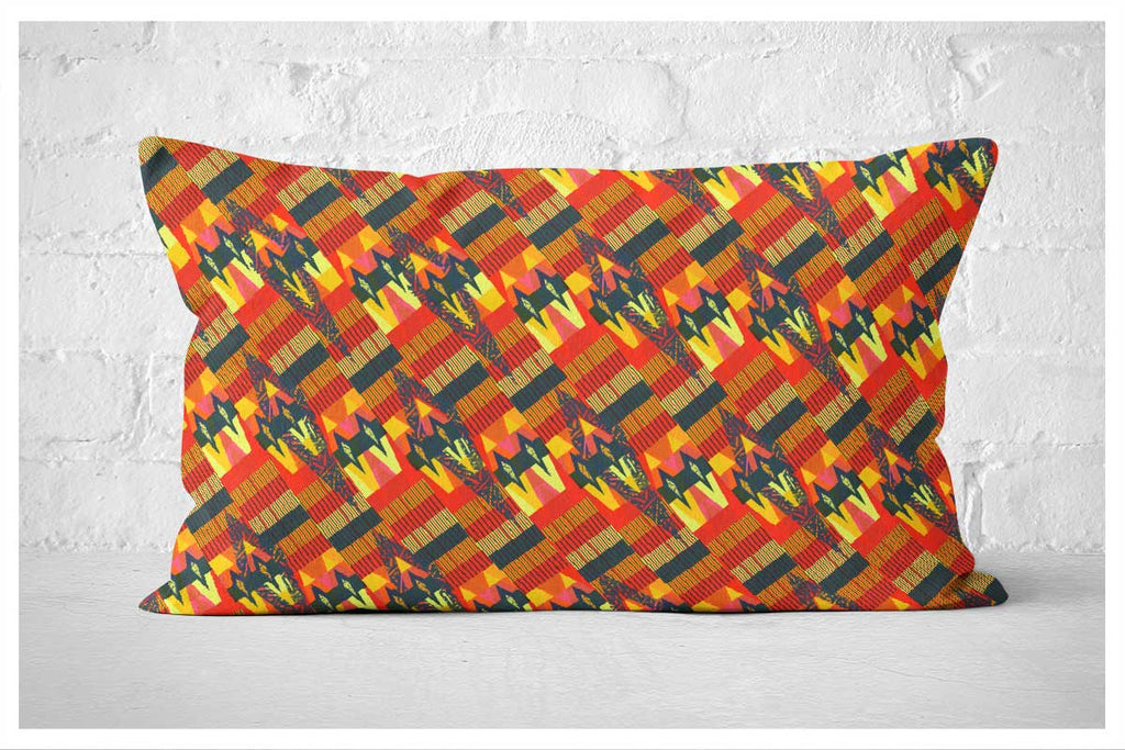 Lumbar Pillowcase - Navajo Palm