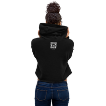 digitalKENTE® Cropped Fleece-Lined Hoodie