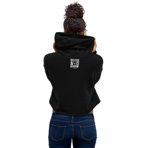 Cropped Hoodie, Fleece-Lined