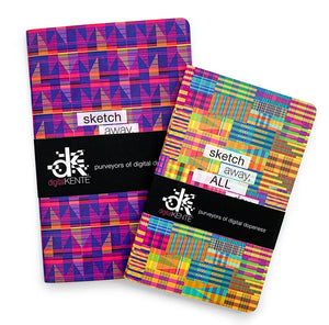 digitalKENTE® Sketchbooks