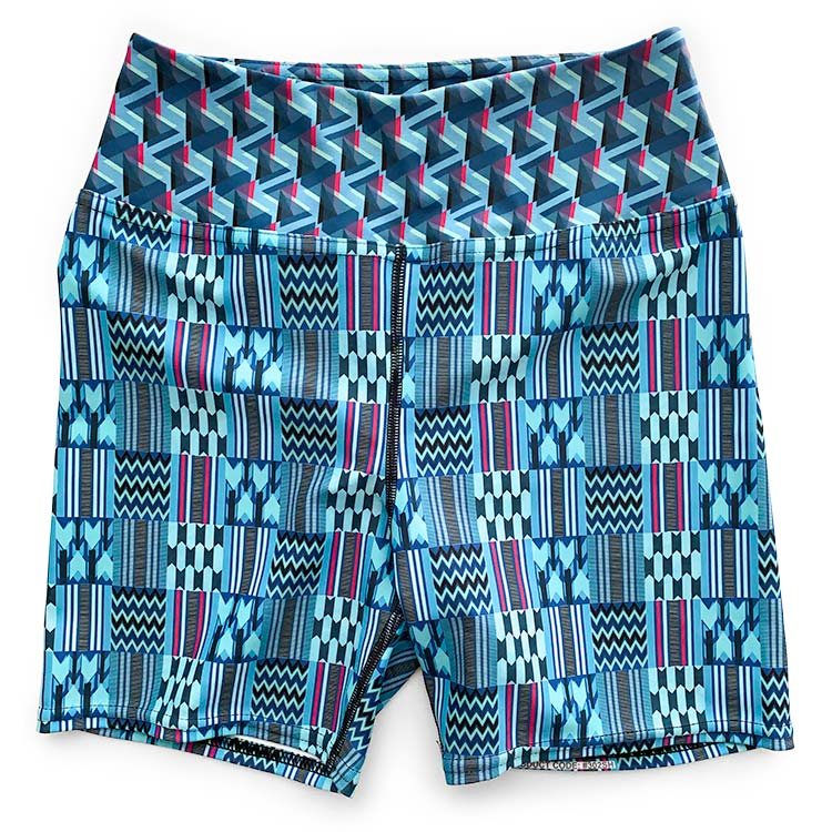 High Waist Biker Shorts - All Prints