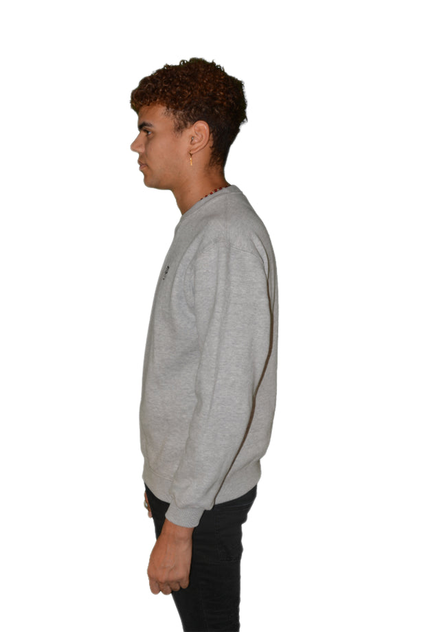 Mens O.G. Symbol Grey Sweat Jumper