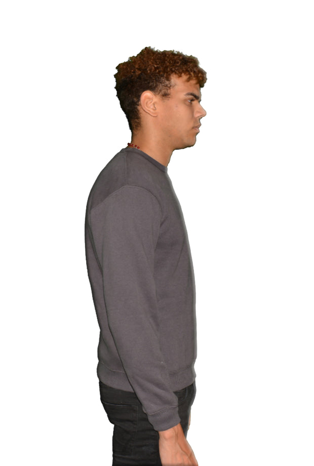Mens O.G. Symbol Dark Grey Sweat Jumper