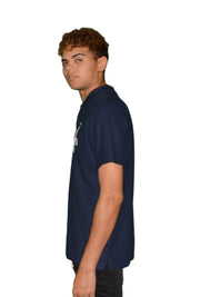 Mens Polo Shirt Ummah Navy Blue