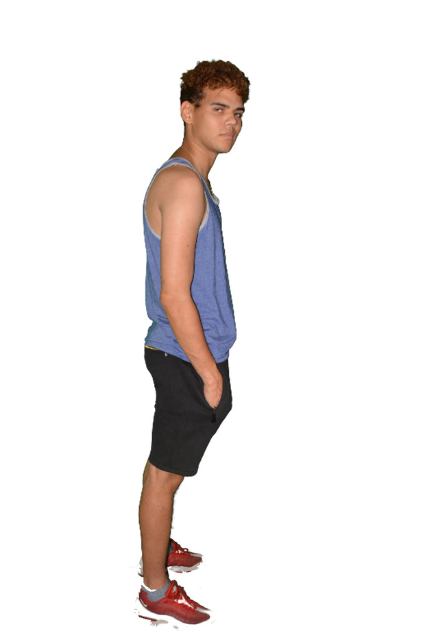 Mens Blue OG Tank Top