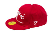 2pac Killuminati I Am Revolutionary Red / white Snapback