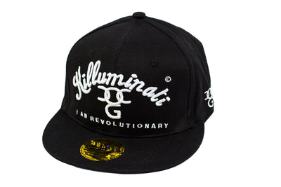 Killuminati I Am Revolutionary Black/White Snapback