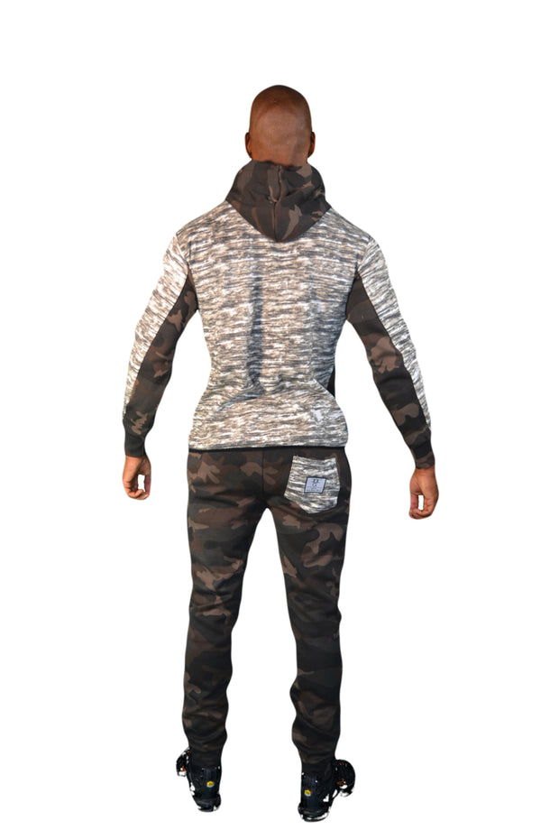 Mens Brown Camouflage OG Tracksuit