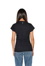 Womens Black/Silver OG Paisley T Shirt
