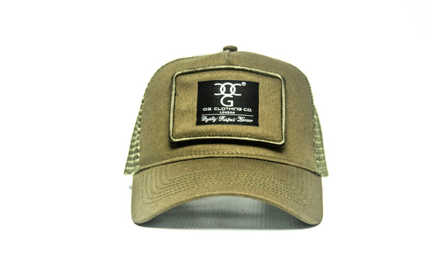 OG Trucker Patch Beige