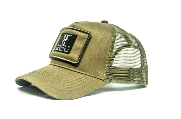OG Trucker Patch army green
