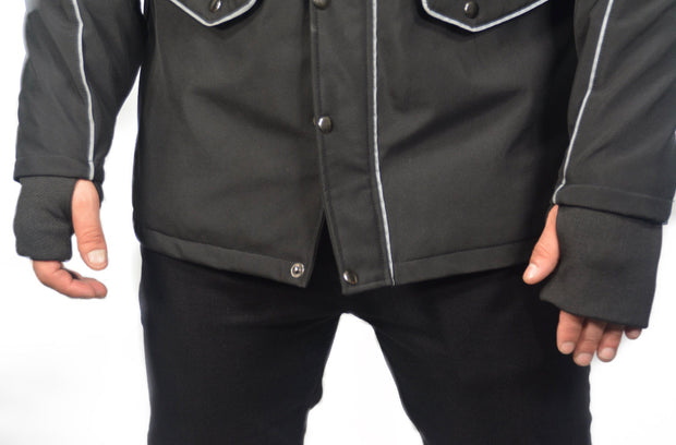 DEFENDER X  COMMUTER JACKET - BLACK
