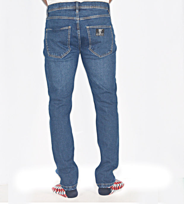 Dark Blue wash SD Black Jeans