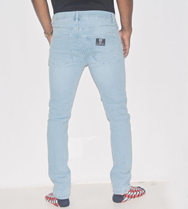 Light Blue wash SD Black Jeans