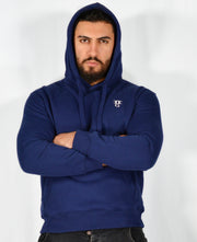Mens O.G. Symbol Blue Pullover Hooded Top