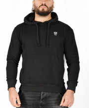 Mens O.G. Symbol Black Pullover Hooded Top