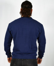 Mens O.G. Symbol Blue Sweat Jumper Top
