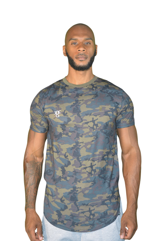 Mens Camouflage OG Long T Shirt
