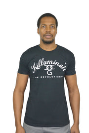 Mens Black / White Killuminati T Shirt