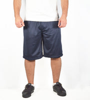 OG1 loose mesh sports shorts – Navy Blue
