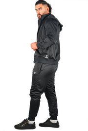 OG-1 Sports Detach Tracksuit Black