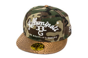 Killuminati I Am Revolutionary Camo With Snakeskin Peak