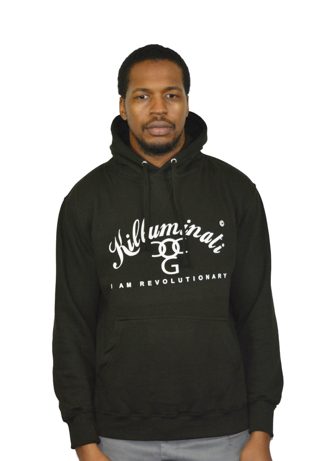 Mens Black / White Killuminati Sweatshirt