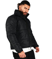 OG DEFENDER Puffer jacket with Detach Mask