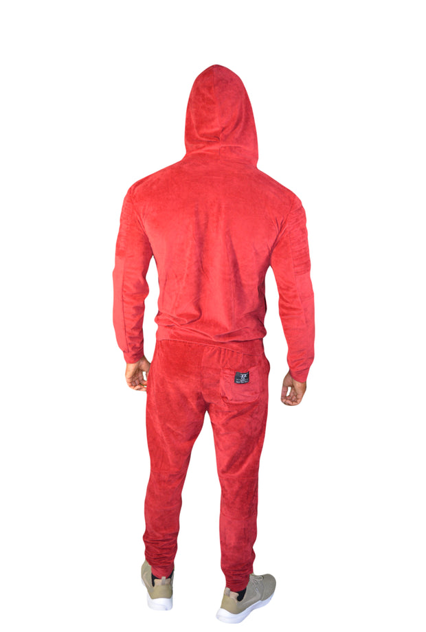 Mens Wine Red OG Tracksuit