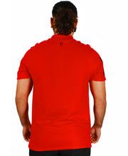 Men's Omar Guevara Ralph Freedom Fighter RED polo shirt £27.99