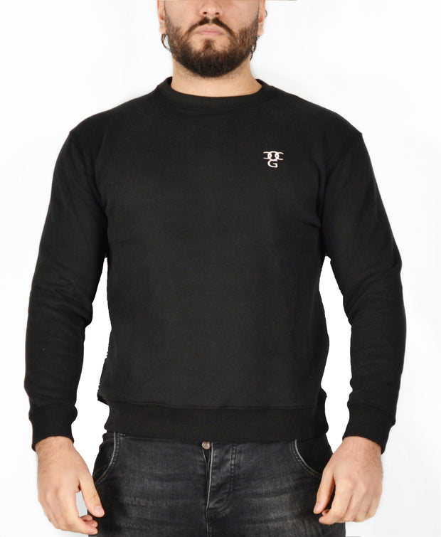 Mens O.G. Symbol Black Sweat Jumper Top