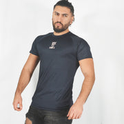 Mens O.G. 1 Sports Blue Long Panel T Shirt