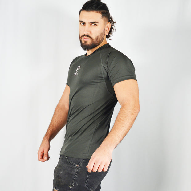 Mens O.G. 1 Sports DarK Grey T Shirt