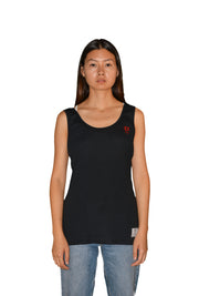 Womens Black/Red OG Sleeveless T Shirt