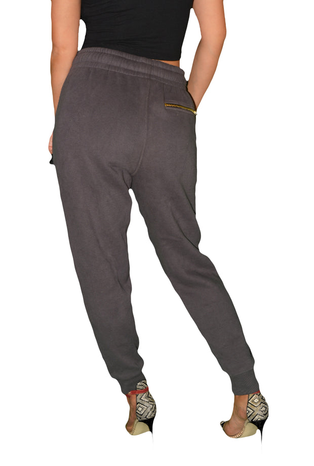 Womens Grey OG Tracksuit Bottom
