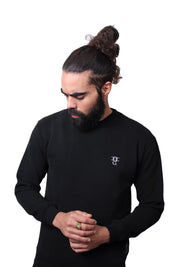 Mens O.G. Symbol Black Sweat Jumper
