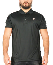 Mens O.G. 1 Sports Black Polo Shirt