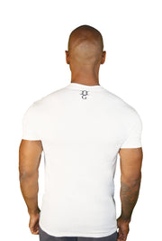 Mens White University Of Killuminati T Shirt