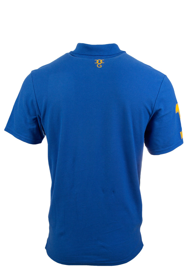 Mens Polo Shirt Ummah Blue