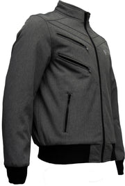 Omar Guevara 'Alpha Biker' Jacket Space Grey