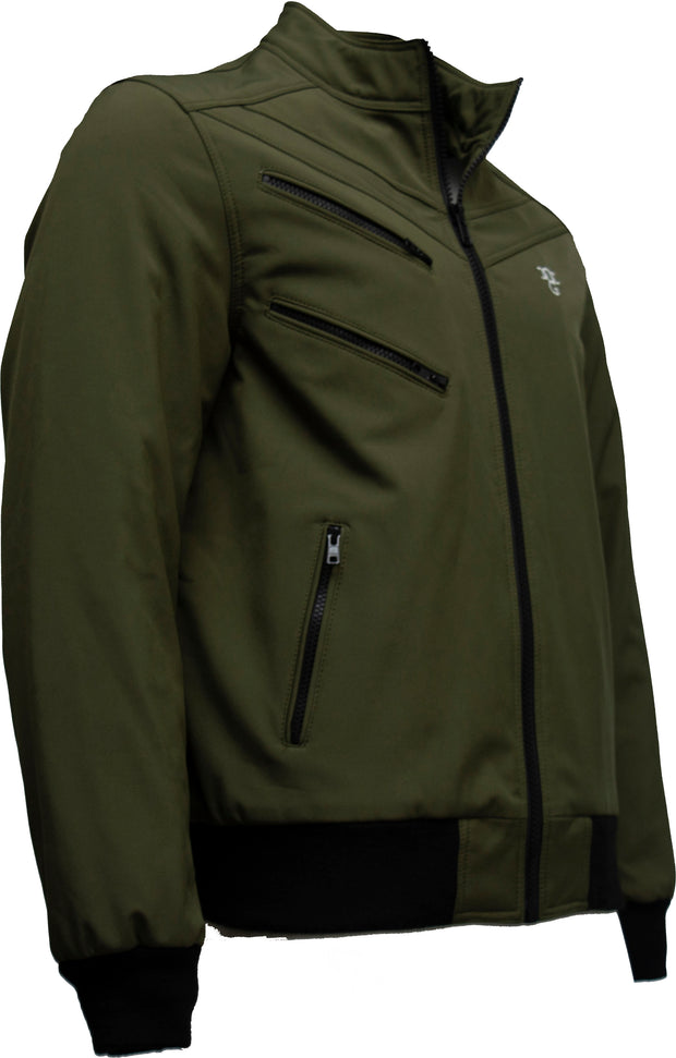 Omar Guevara 'Alpha Biker' Jacket Super Green