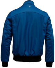 Omar Guevara 'Alpha Biker' Jacket Electric Blue