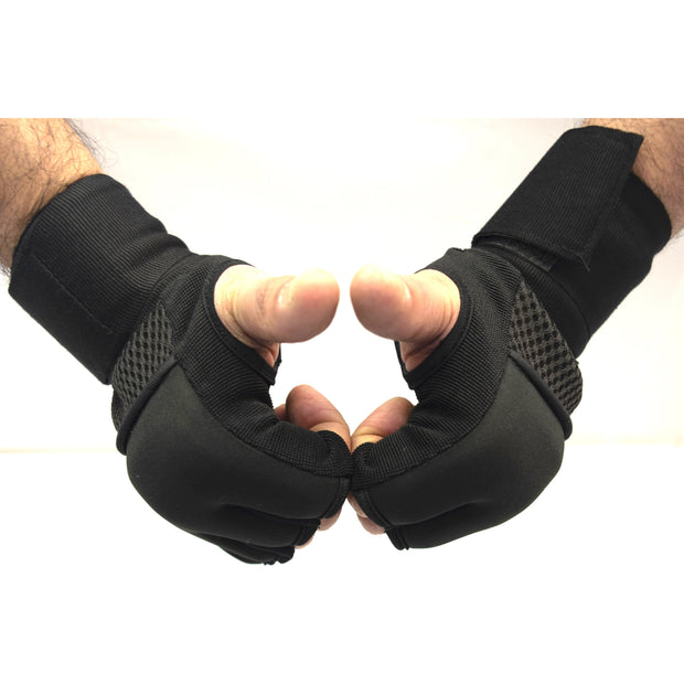 Gel Hand Wraps With Cotton Lycra Compression Straps