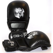 MMA Leather Shooter Gloves