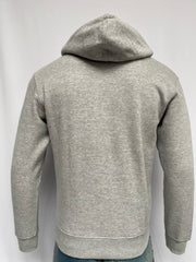 Hooded Pullover Light Grey Top