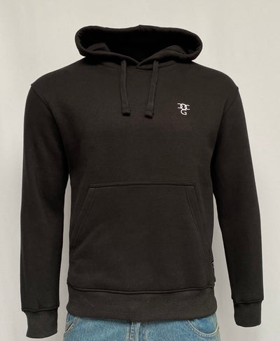 Hooded Pullover Black Top
